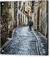 Streets Of Segovia Acrylic Print by Joan Carroll
