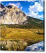 Sukakpak Reflection Acrylic Print by Chad Dutson