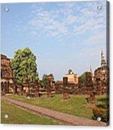 Sukhothai Historical Park - Sukhothai Thailand - 011344 Acrylic Print by DC Photographer