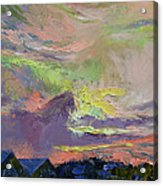 Summer Evening Acrylic Print by Michael Creese