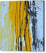 Summer Rein- Abstract Acrylic Print by Ismeta Gruenwald