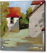 Summer Shadows Acrylic Print by Joyce Hicks