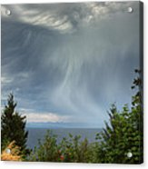 Summer Squall Acrylic Print by Randy Hall