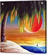 Summer Sunsets By Shawna Erback Acrylic Print by Shawna Erback