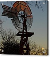 Sun Moon And Wind Acrylic Print by Robert Frederick