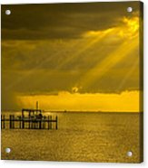 Sunbeams Of Hope Acrylic Print by Marvin Spates