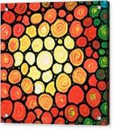 Sunburst Acrylic Print by Sharon Cummings