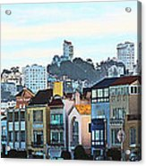 Sunday At Marina Green Park Fort Mason San Francisco Ca Acrylic Print by Artist and Photographer Laura Wrede
