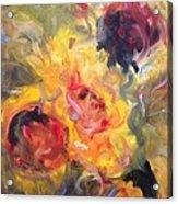 Sunflower Selebrations Acrylic Print by Karen Carmean