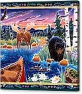 Sunrise At Bear Lake Acrylic Print by Harriet Peck Taylor