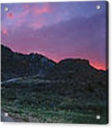 Sunrise In Colorado Acrylic Print by Ric Soulen