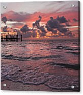 Sunrise Panoramic Acrylic Print by Adam Romanowicz