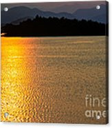 Sunset Asia  Acrylic Print by Adrian Evans