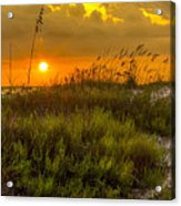 Sunset Dunes Acrylic Print by Marvin Spates