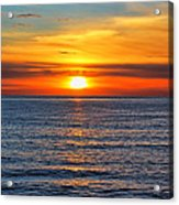 Sunset In San Clemente Acrylic Print by Mariola Bitner