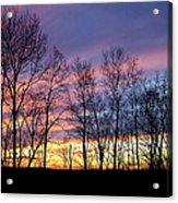 Sunset Of The Century Acrylic Print by Christina Rollo