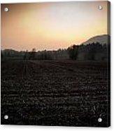 Sunset On The Adda Acrylic Print by Matteo Musso