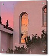 Sunset On Windows Acrylic Print by Augusta Stylianou