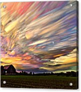 Sunset Spectrum Acrylic Print by Matt Molloy