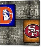 Super Bowl 24 Acrylic Print by Joe Hamilton
