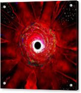 Super Massive Black Hole Acrylic Print by David Lee Thompson