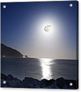 Super Moon Acrylic Print by Thomas Kessler