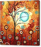 Surrounded By Love By Madart Acrylic Print by Megan Duncanson