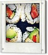 Sushi Acrylic Print by Les Cunliffe