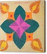 Swarna Jyot Acrylic Print by Sonali Gangane