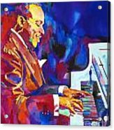 Swinging With Count Basie Acrylic Print by David Lloyd Glover