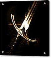 Sword Of Gandalf Acrylic Print by Christopher Gaston