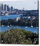 Sydney Harbour Acrylic Print by Steven Ralser