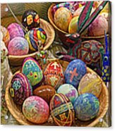 Symbols Of Easter- Spiritual And Secular Acrylic Print by Gary Holmes
