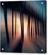 Symphony Of Shadow - A Tranquil Moments Landscape Acrylic Print by Dan Carmichael