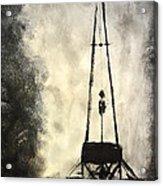 T. D. Acrylic Print by Shawn Marlow