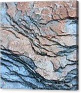 Tahoe Rock Formation Acrylic Print by Carol Groenen
