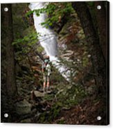 Take A Hike Acrylic Print by Bill Wakeley