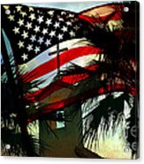 Take Back America Acrylic Print by Beverly Guilliams