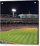 Take Me Out To The Ballgame Acrylic Print by Juergen Roth