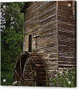 Tall Mill Acrylic Print by Dave Bosse