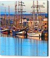 Tall Ships Acrylic Print by Bill  Robinson