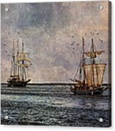 Tall Ships Acrylic Print by Dale Kincaid