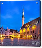 Tallinn 03 Acrylic Print by Tom Uhlenberg
