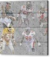 Tampa Bay Buccaneers Legends Acrylic Print by Joe Hamilton