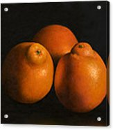 Tangerines Acrylic Print by Anthony Enyedy