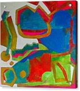 Tango Acrylic Print by Diane Fine