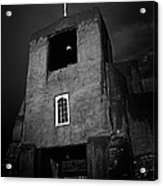 Taos Church Acrylic Print by Jeff Klingler