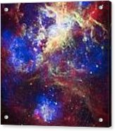 Tarantula Nebula 2 Acrylic Print by The  Vault - Jennifer Rondinelli Reilly