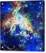 Tarantula Nebula 4 Acrylic Print by The  Vault - Jennifer Rondinelli Reilly