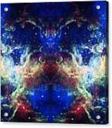 Tarantula Nebula Reflection Acrylic Print by The  Vault - Jennifer Rondinelli Reilly